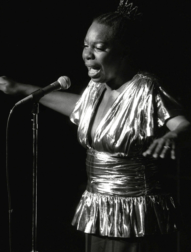 Nina Simone is a nominee for induction into the Rock and Roll Hall of Fame.