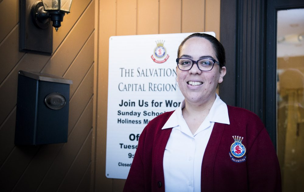 Lt. Anagelys Cruz of the Salvation Army will go to her native Puerto Rico to provide support to residents affected by Hurricane Maria.