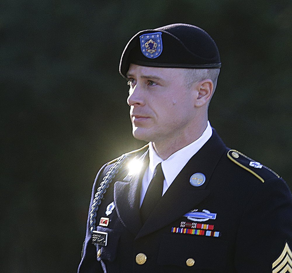 Army Sgt. Bowe Bergdahl, seen at Fort Bragg, N.C., in January 2016