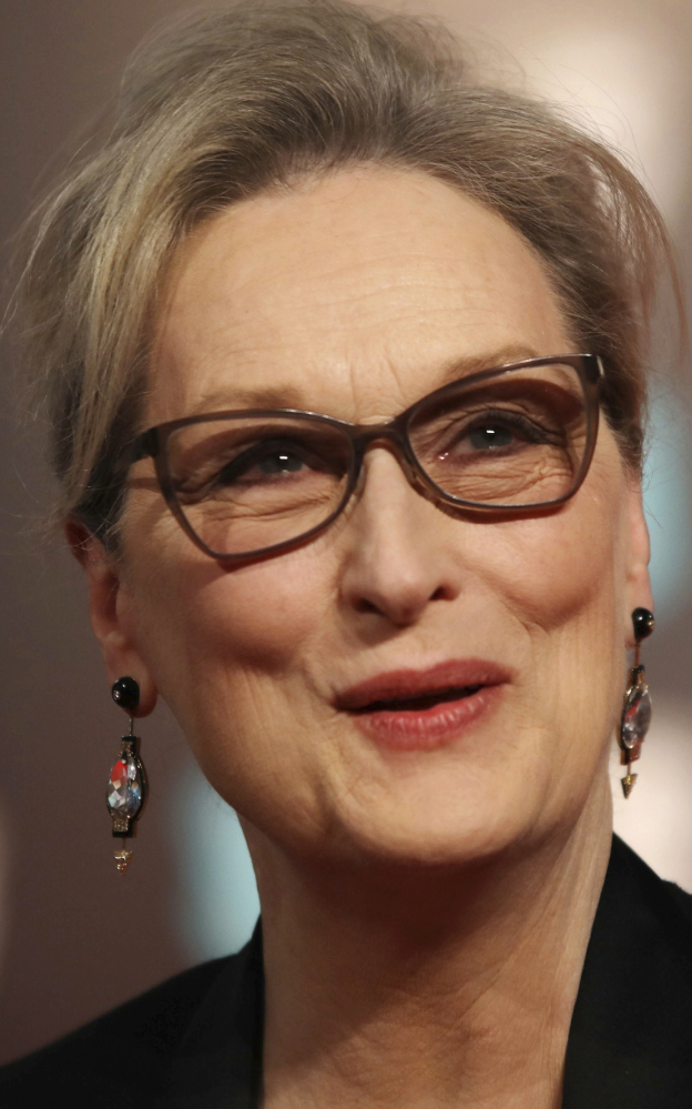 Actresses Meryl Streep and Judi Dench, below, were among those speaking out Monday about Harvey Weinstein.