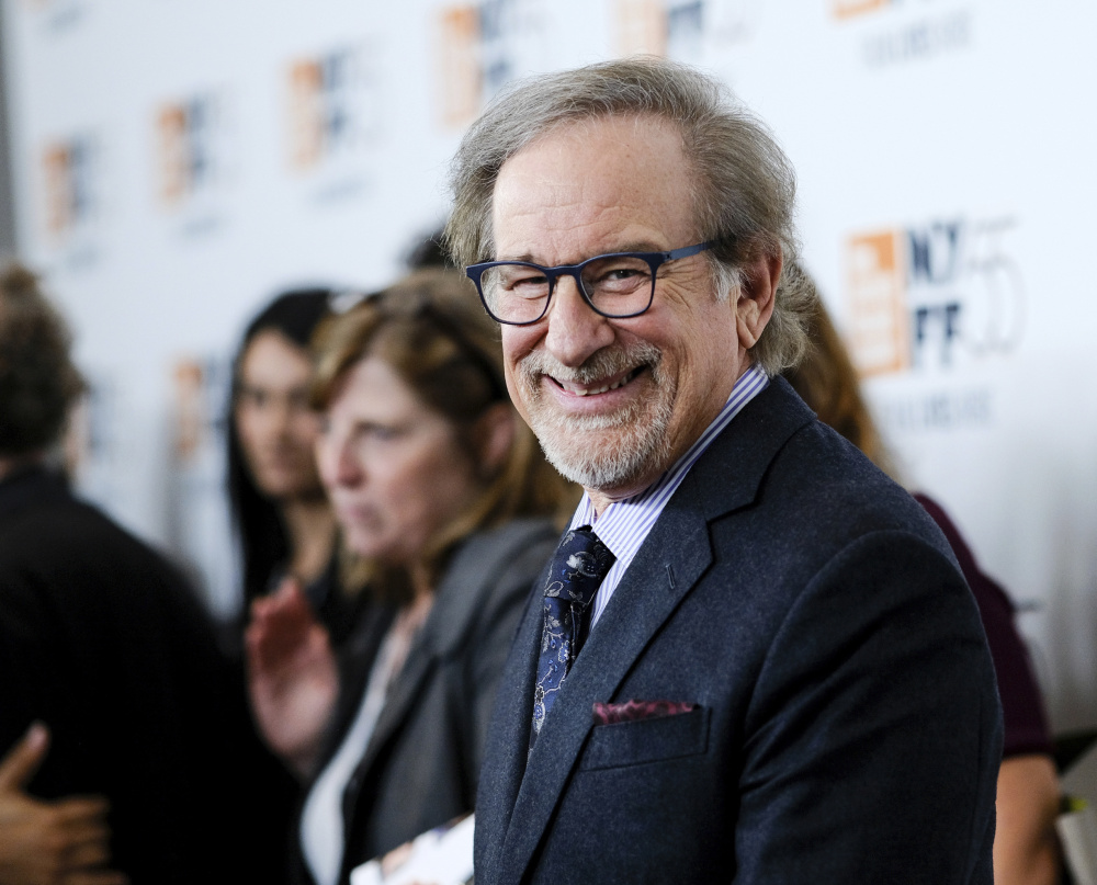"Steven Spielberg attends the world premiere of ""Spielberg"" at the 55th New York Film Festival on Oct. 5."