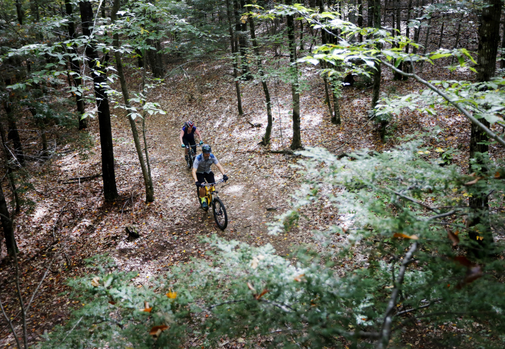 As mountain bike trails in greater portland grow for Portland maine bike trails
