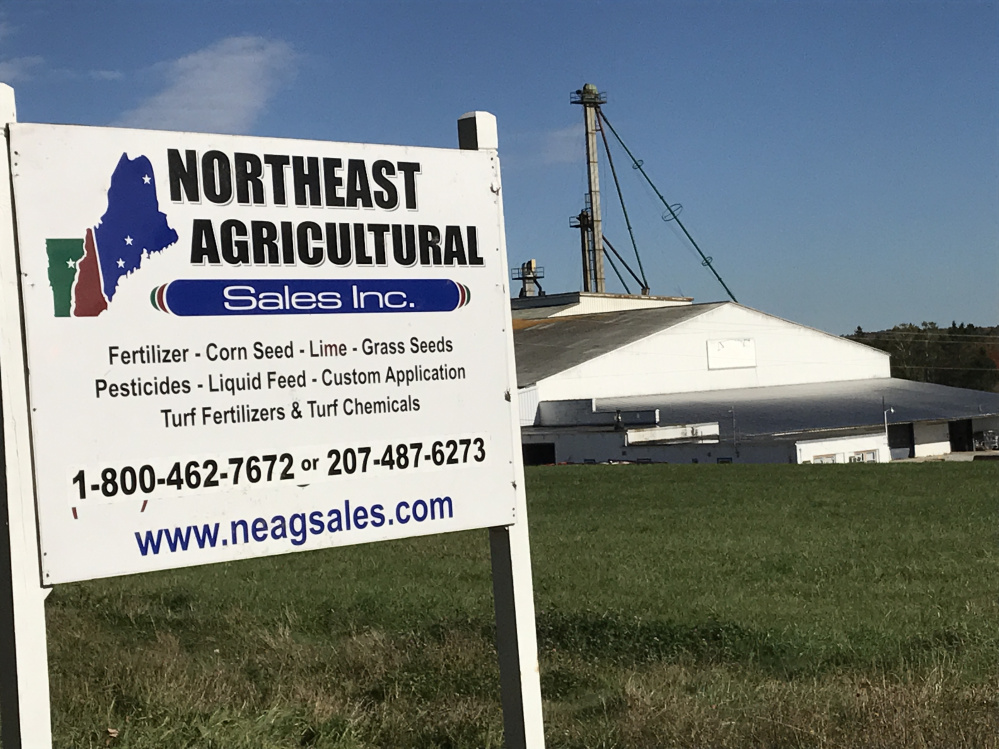 An explosion at Northeast Agricultural Sales Inc. in Detroit injured three people.