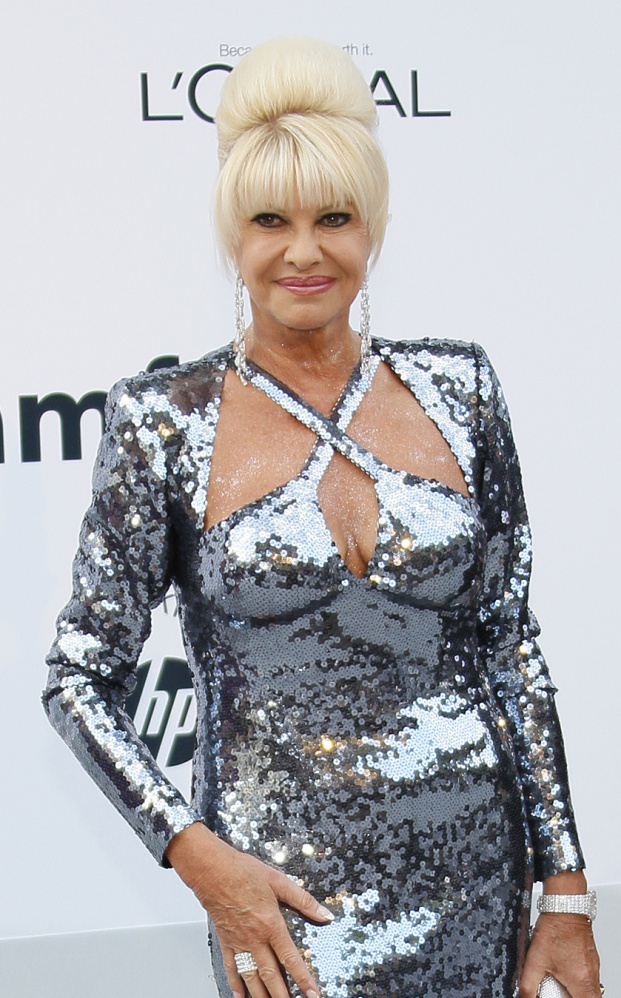 Ivana Trump is promoting her new memoir,