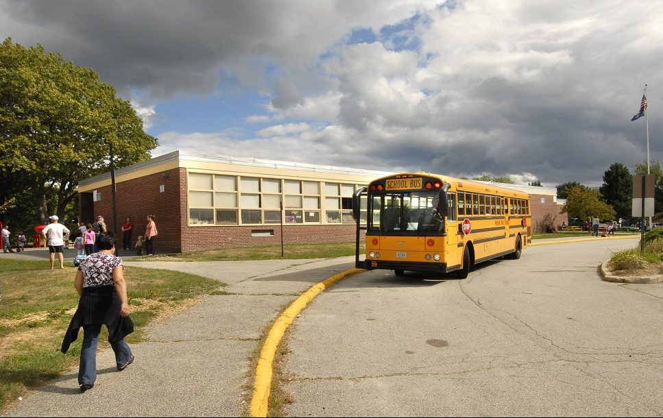 Some parents fear that Presumpscot Elementary School, seen in 2010, could be closed as the Portland school district tries to cut costs.