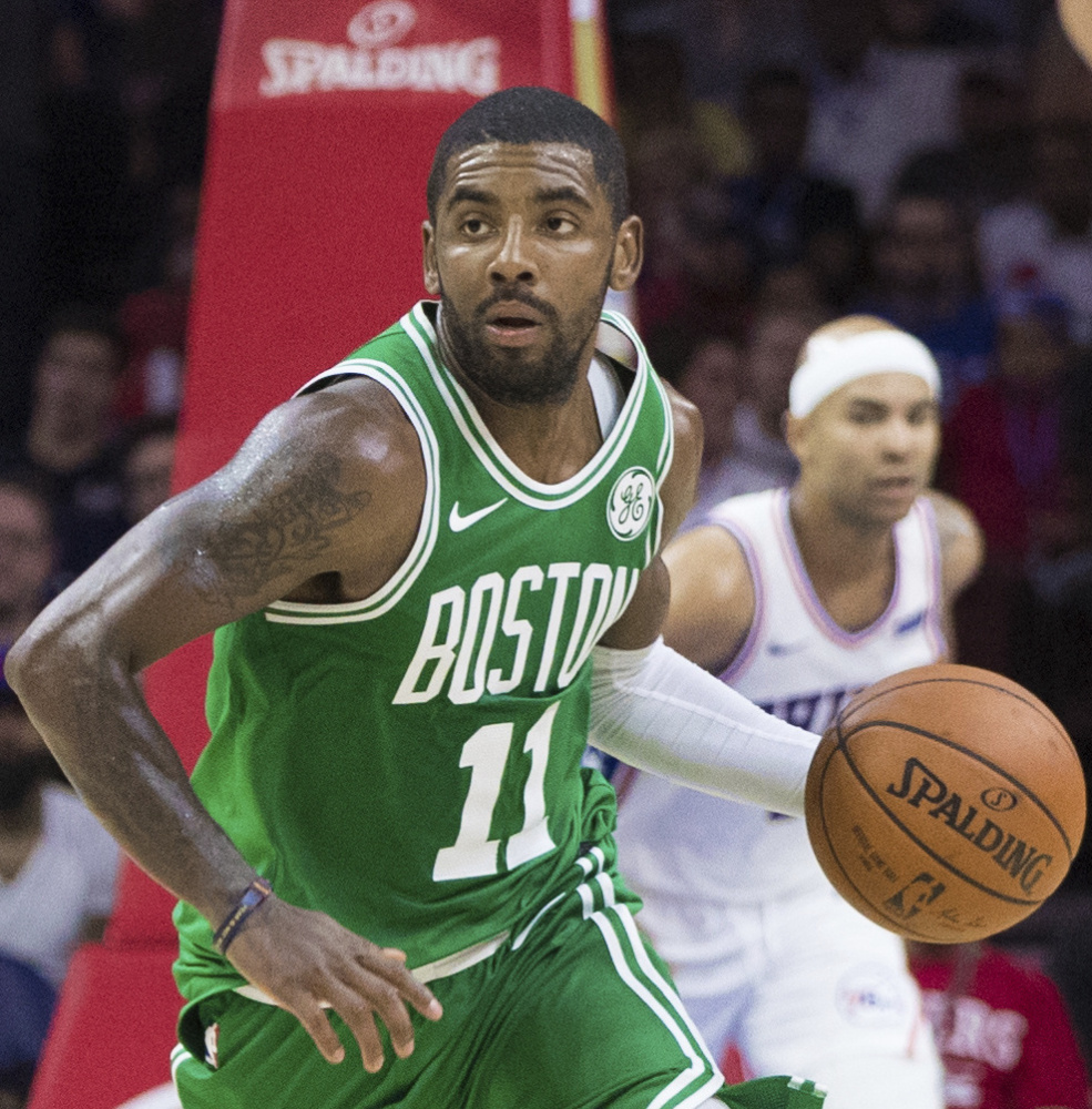 The Celtics couldn't stop Kyrie Irving when they faced the Cavaliers in last season's Eastern Conference finals. Now they hope the same holds true for Cleveland, as Irving makes his debut with the Celtics.
