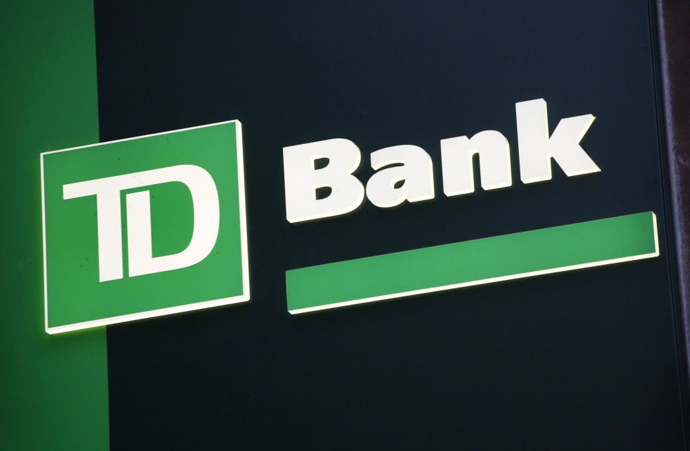 The Toronto-based parent company of TD Bank gets about a third of its annual profit from U.S. retail banking.