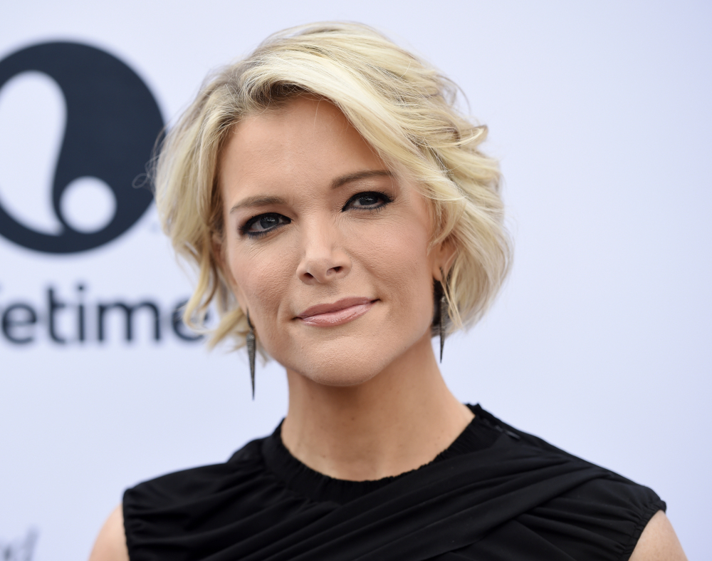 Megyn Kelly, shown in December, criticized former fellow Fox News host Bill O'Reilly and her former bosses there, saying they fostered a toxic culture for female employees.