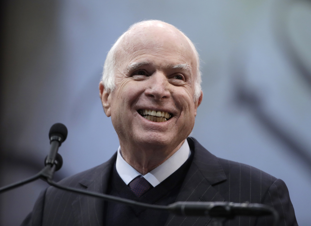 Sen. John McCain, R-Ariz., will turn 82 next week.