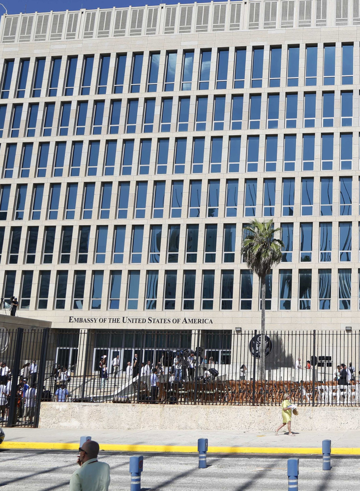 Cuban officials called alleged sonic attacks against diplomats