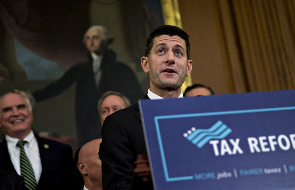 Republican leaders such as House Speaker Paul Ryan, R-Wisc., made a last-minute push for unity on taxes even though the party still seems split on several key elements.