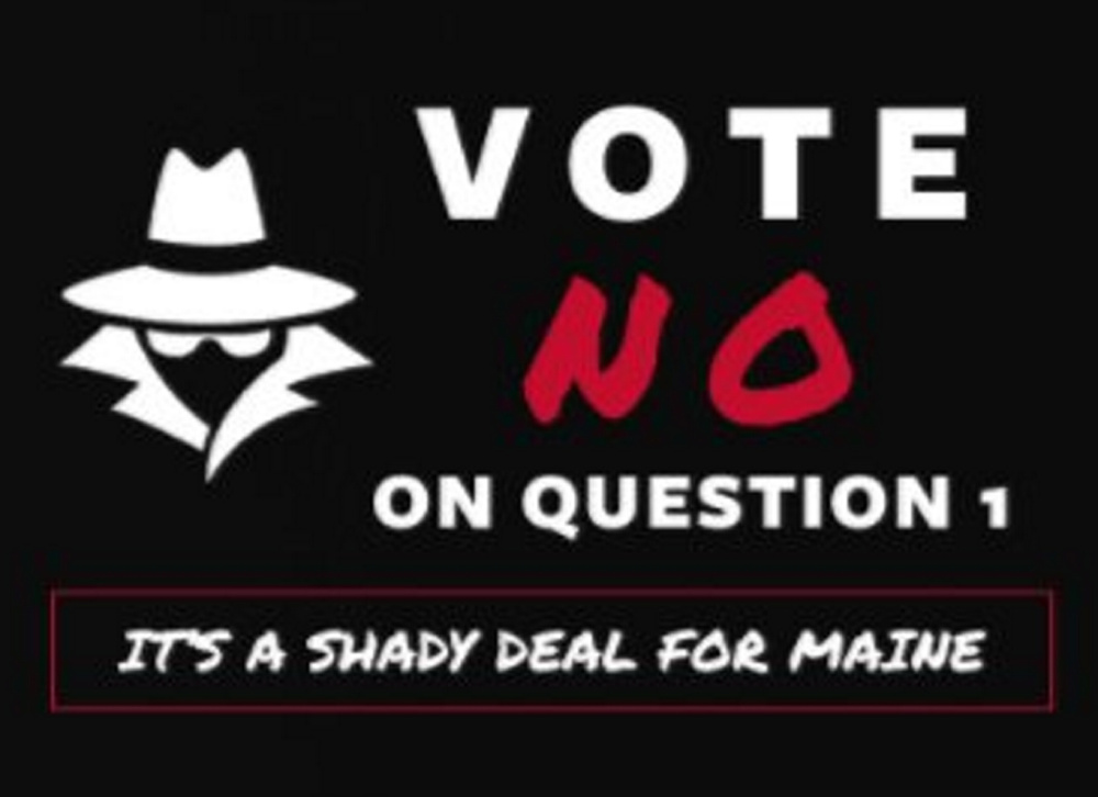 This image is taken from A Bad Deal for Maine's website, wickedshady.com, opposing the campaign for a proposed casino in York County.
