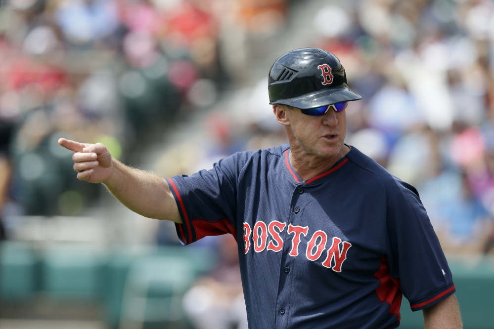 Brian Butterfield, who joined John Farrell's staff when he arrived in Boston as manager before the 2013 season, is moving on the Chicago Cubs. Butterfield, a Maine native, was Boston's third base coach as and is also known as one of the game's best infield instructors. Farrell was fired by the Red Sox two weeks ago.