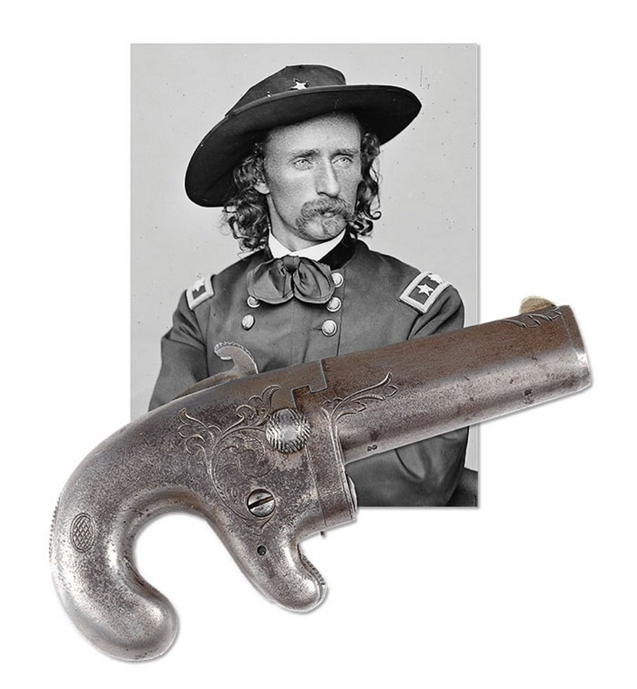 James D. Julia Auctioneers are projecting that George Armstrong Custer's National Arms Company Deringer will bring bids between $20,000 and $30,000.