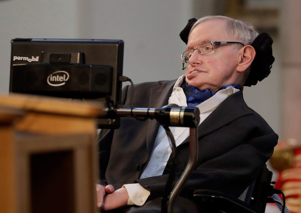 Cambridge University put Stephen Hawking's doctoral thesis online on Monday, triggering such interest that it crashed the university's website.