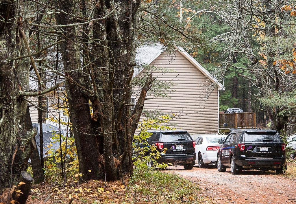 The Androscoggin Sheriff's Department was at the scene of a reported armed robbery on Empire Road in Poland on Thursday afternoon.