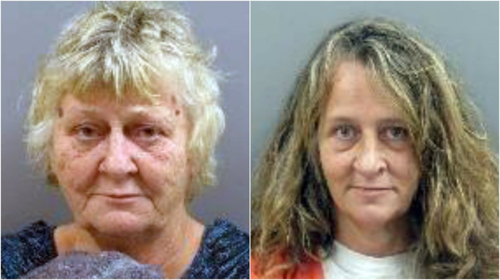 Carol Day, left, and her daughter Kimberly Reynolds were charged with selling oxycodone.