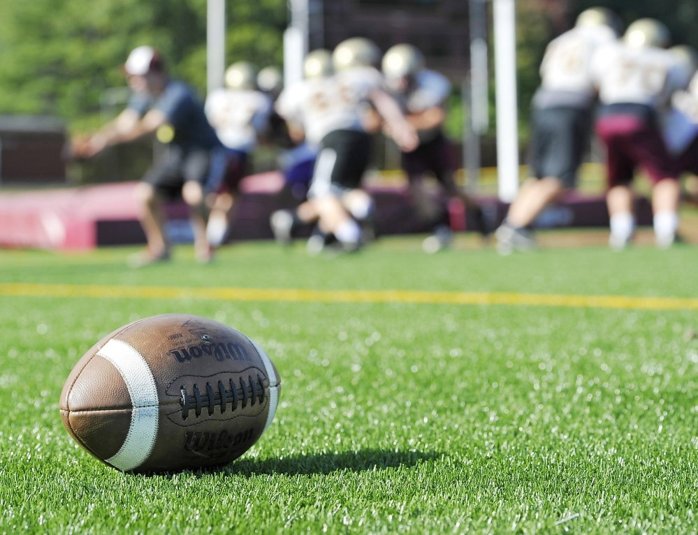 A reader says too many of Maine's high school football teams run up the score against weak opponents.