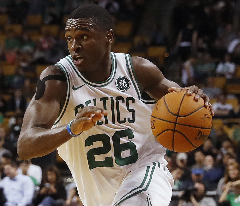 Jabari Bird didn't expect to play in the Celtics' third game, at Philadelphia. Instead he entered in the third quarter and played shut-down defense in a victory.