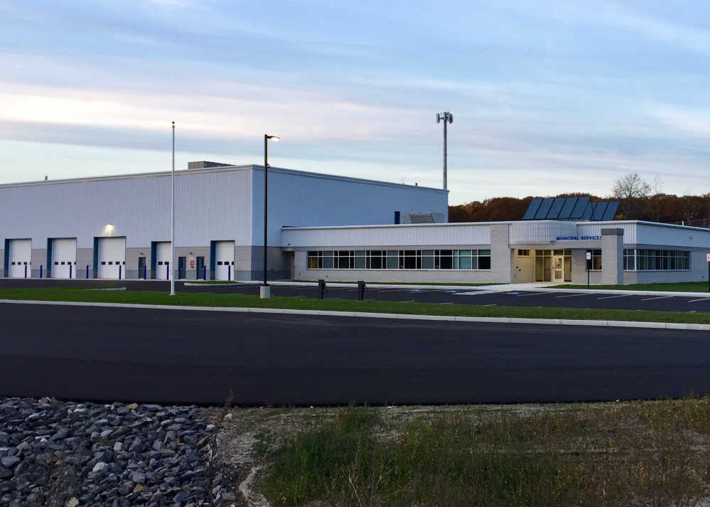 South Portland's new Municipal Services Facility is located at 929 Highland Ave.