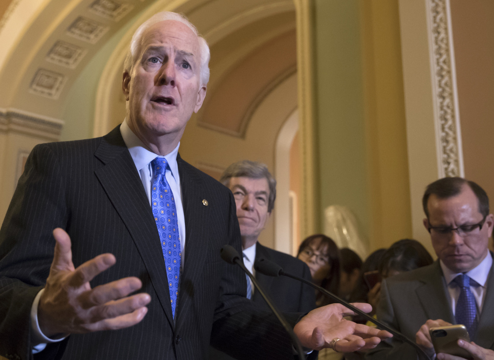 "Sen. John Cornyn, R-Texas, said the background check system ""failed us terribly"" in not preventing the Texas church shooter from buying guns."