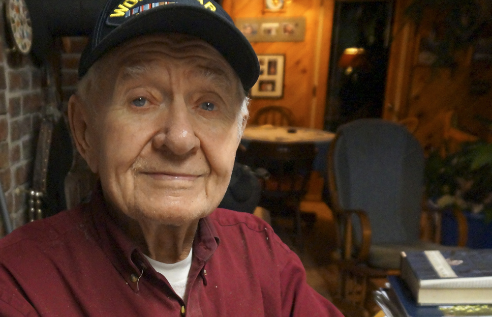 Paul Marshall, of Hope, was a private first class in the Army during World War II.