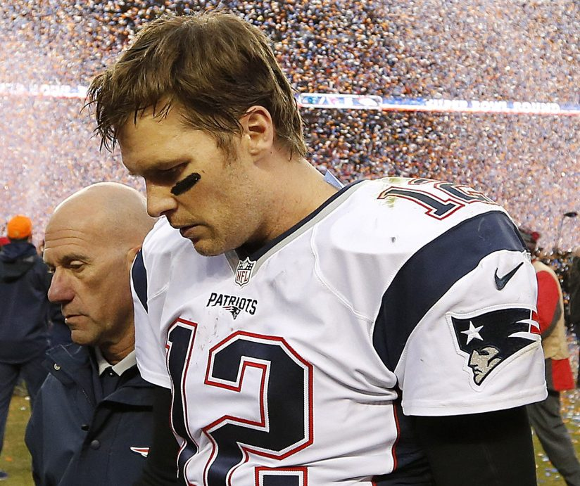There have been times that Tom Brady has left the field in Denver with his head hung low. But things have changed and the Patriots should win there Sunday night.
