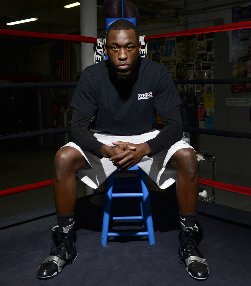 Russell Lamour Jr. has his eyes focused on the future, but first he needs to reclaim his IBA North American middleweight title Saturday night at the Portland Expo.