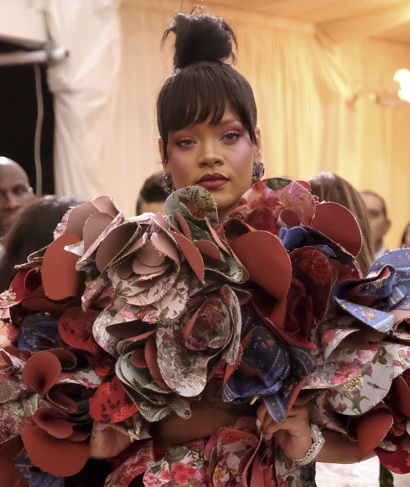 Rihanna (shown here), Amal Clooney, Donatella Versace and Anna Wintour will chair next year's Met Gala.