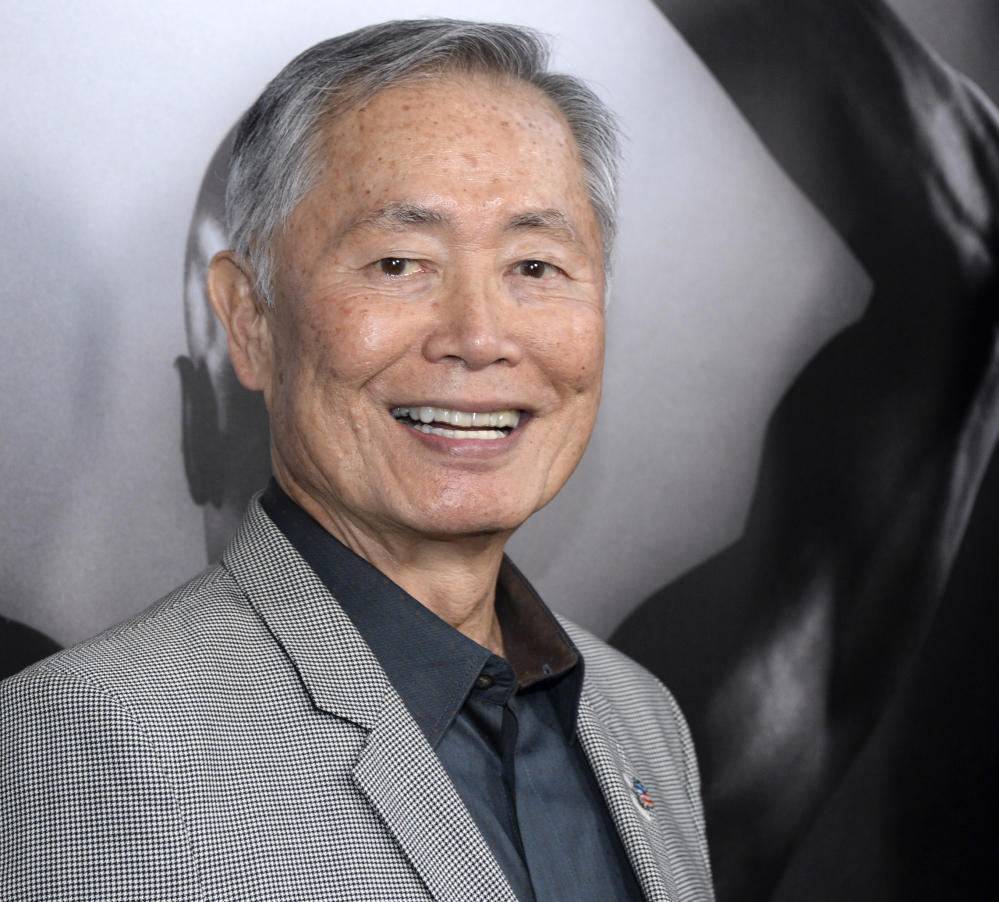"""Star Trek"" actor George Takei denied Saturday that he groped a struggling actor and model in 1981."