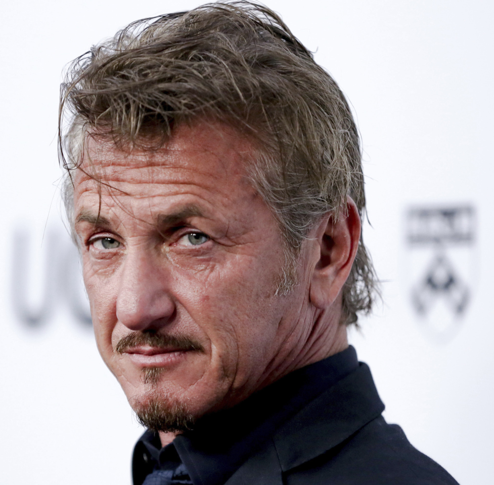 "Atria Books said Monday that Sean Penn's novel, ""Bob Honey Who Just Do Stuff,"" comes out March 27."