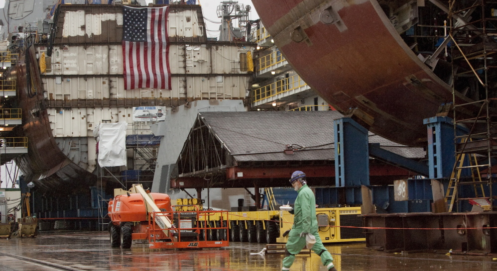 Bath Iron Works recruits and trains thousands of highly skilled workers, who make good wages and contribute to their communities.