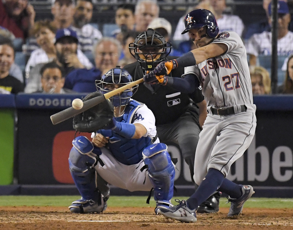 Houston's Jose Altuve was named the MVP of the American League Thursday, bating out Aaron Judge of the Yankees by a wide margin.