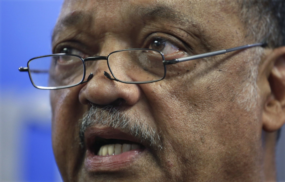 The Rev. Jesse Jackson says he's been seeking outpatient care for two years for Parkinson's disease.