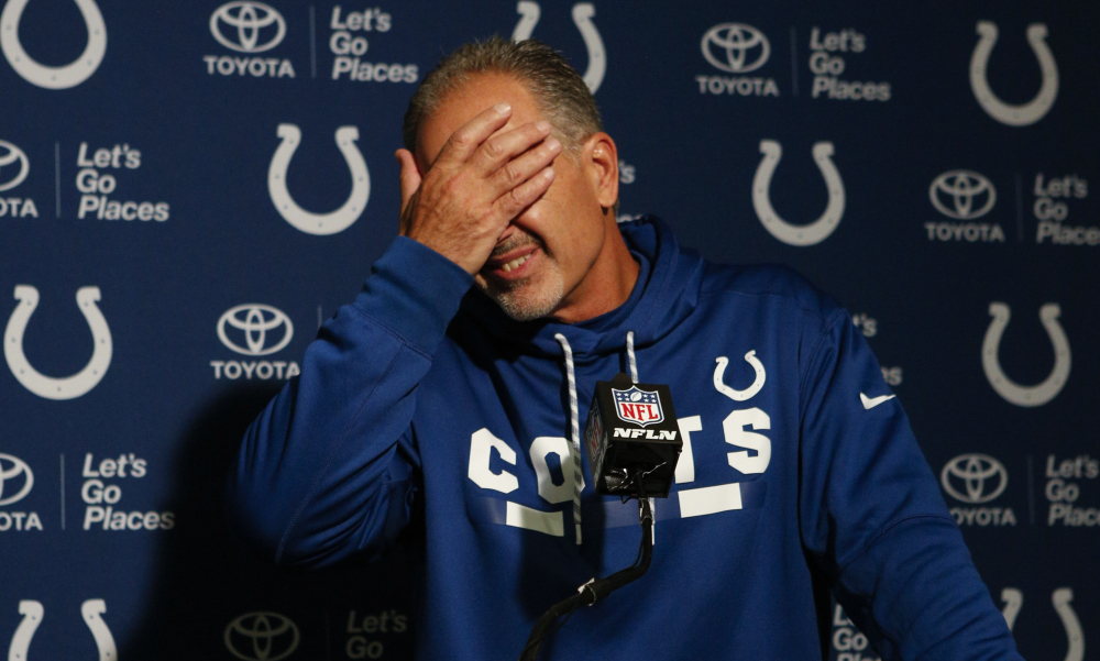 Remember Deflategate? Well, Chuck Pagano and the Indianapolis Colts lost that game decisively to the New England Patriots in the AFC final following the 2014 season, and haven't done a whole lot of anything since then. So if Pagano joins the list of coaches seeking employment elsewhere soon, well, don't be all that surprised.