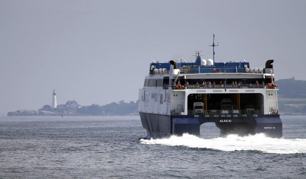 Portland officials are wary of spending as much as $7 million to upgrade Ocean Gateway customs facilities when the Nova Scotia ferry service has paid the city just $672,250 in the past four years.