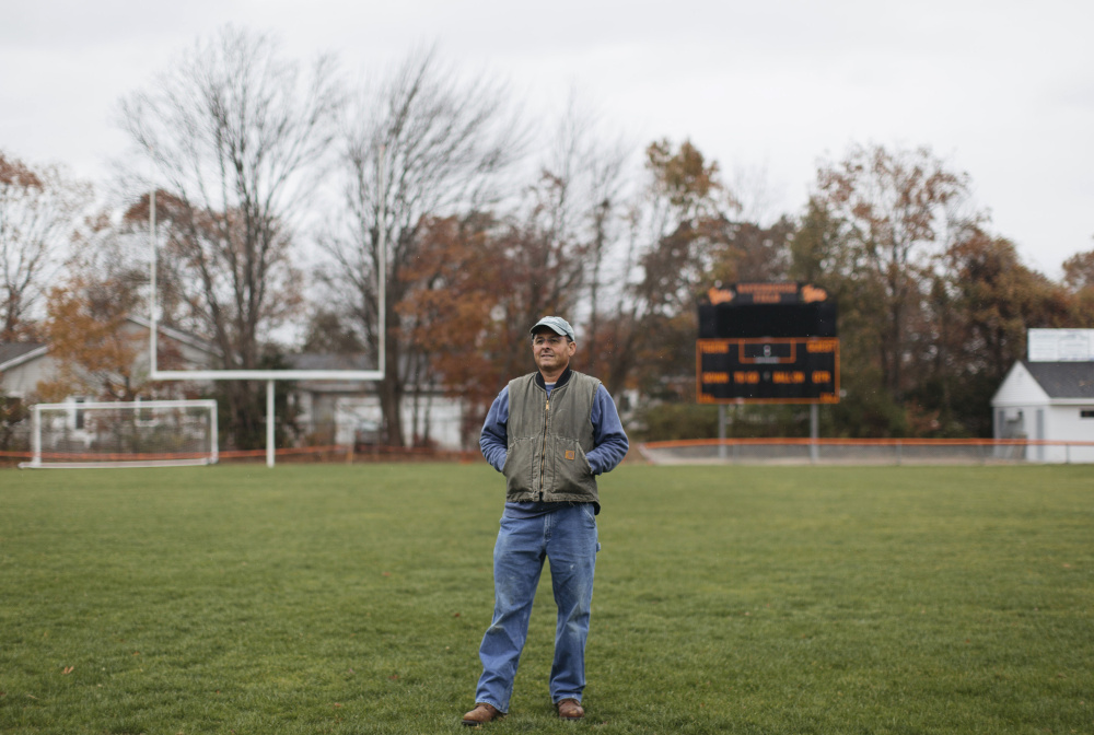 "As president of the Waterhouse Field Association in Biddeford, Jim Godbout led the charge to renovate the field. ""I wanted the kids to have a safe space to play their fall sports,"" Godbout said. It is just one of the many ways he finds to give back to his community."