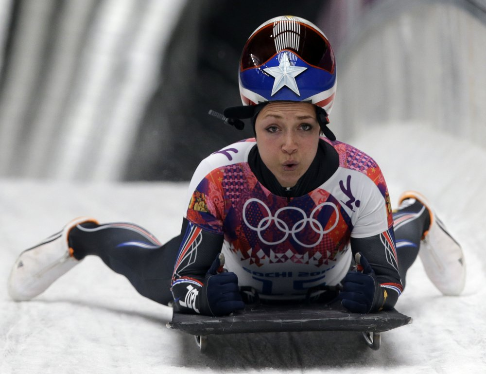Katie Uhlaender came up short of the podium in 2014, placing fourth in the women's skeleton at Sochi, but will now receive a bronze medal after an opponent's disqualification.