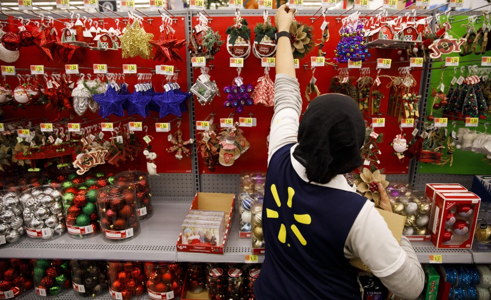 By the time Walmart stores began offering discounts on Thursday, its doorbuster deals already were available online.