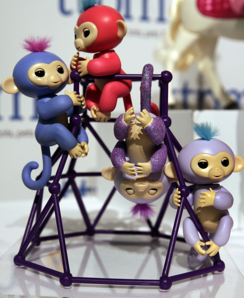 Real Fingerlings from WowWee wrap around a finger, move and make sounds, and counterfeit ones might not.