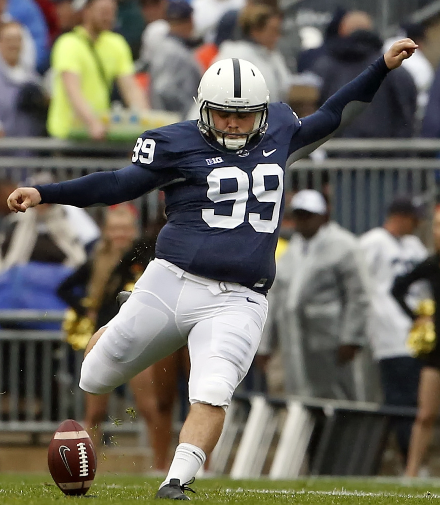 Joey Julius was heavily mocked on social media for the way he looked while kicking for the Penn State football team.