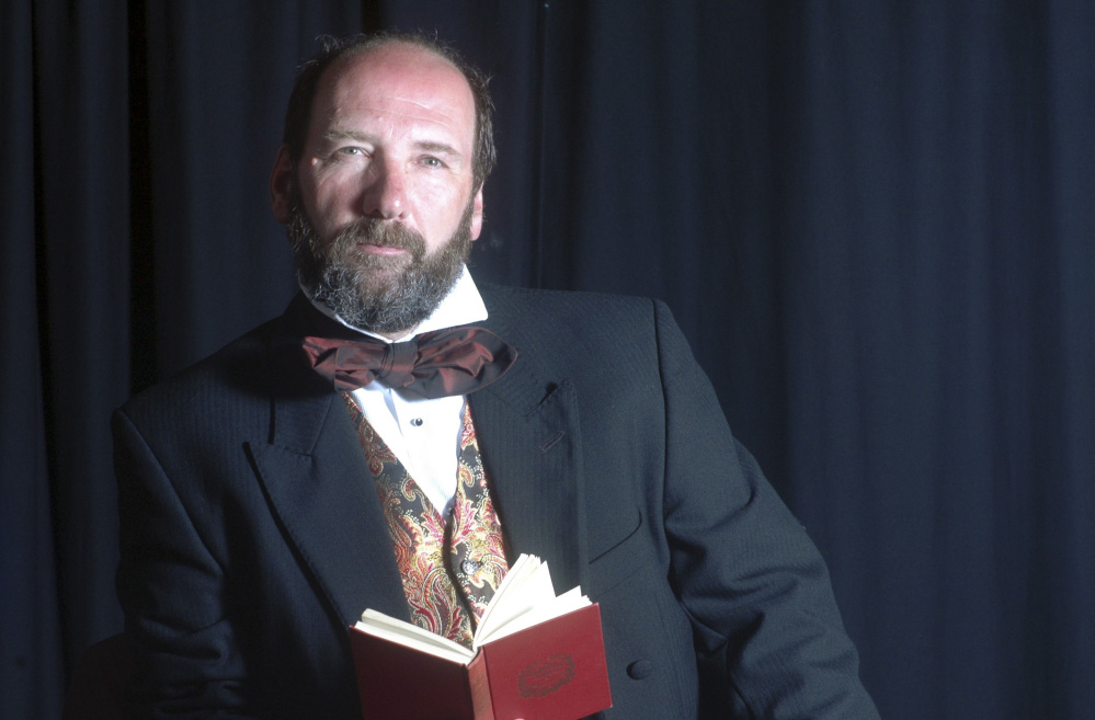 Gerald Dickens will be the first Dickens in 149 years to come to Portland to perform