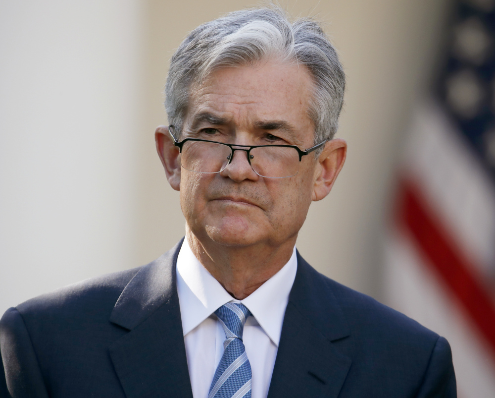 The Senate Banking Committee has scheduled Federal Reserve board member Jerome Powell's confirmation hearing as next chair of the Federal Reserve for Tuesday.