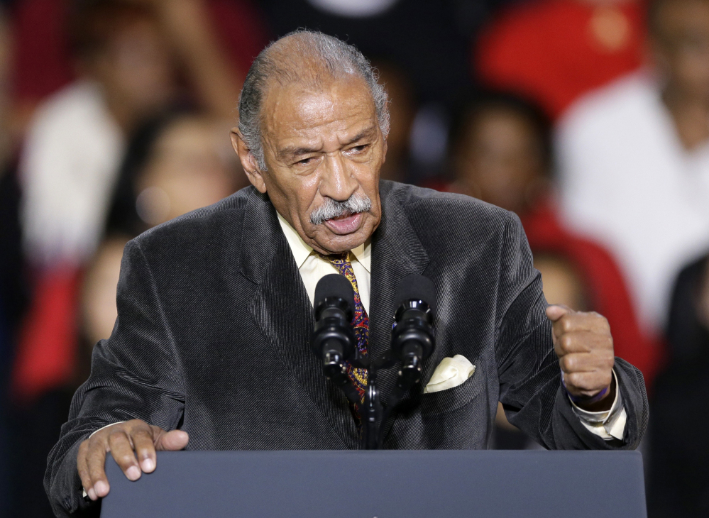 Rep. John Conyers, D-Mich., has denied accusations and has refused to resign.  He did announce Sunday he would step aside as top Democrat on the Judiciary Committee