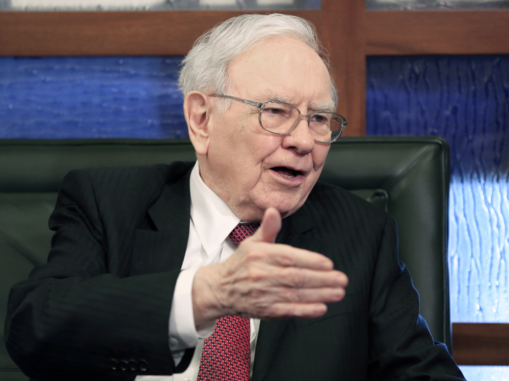 Warren Buffett's Fruit of the Loom brand is offering a new subscription service called Fruit to Your Door. Shoppers can buy a six-pack of skivvies, among other products, and have them re-ordered every six months at a 30 percent discount.