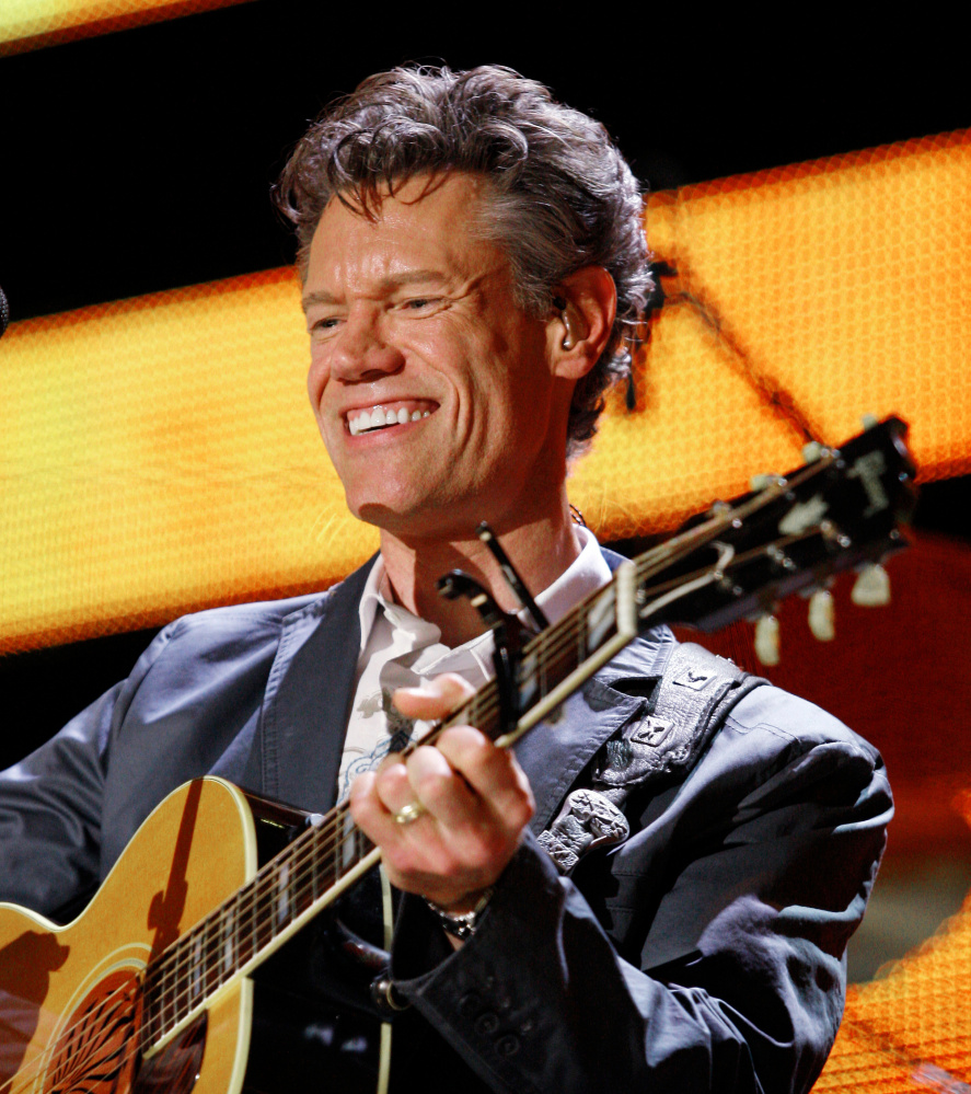 Country artist Randy Travis performs at the CMA Music Festival in 2008.
