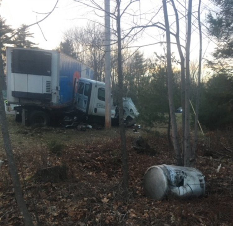 A head-on crash between a passenger vehicle and tractor trailer killed one person Saturday in Fairfield.