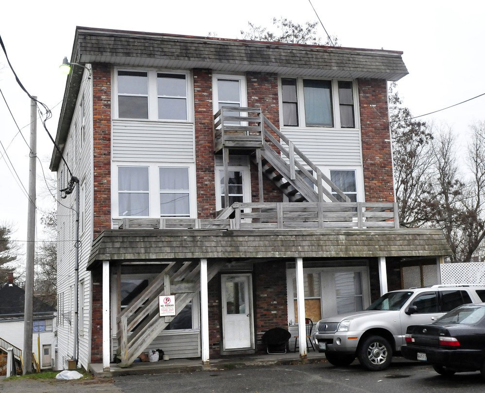 Fire damaged apartment 2 and the tenant was arrested by police late Saturday at the 15-apartment unit at 17 College Ave. in Waterville. Other tenants alerted neighbors as alarms rang and the building was evacuated. The building remained occupied on Sunday.