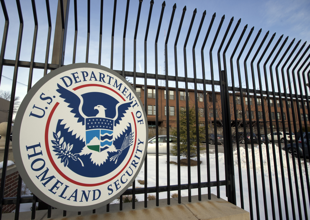 The Homeland Security Department headquarters is seen in northwest Washington in February 2015. Agents from U.S. Immigration and Customs Enforcement were aided by Skowhegan police in the search of a Rowe Road residence Tuesday morning. While an agency spokesman and Skowhegan Police Chief David Bucknam acknowledged the presence of the agents, neither would comment on the reason for their presence in Skowhegan.
