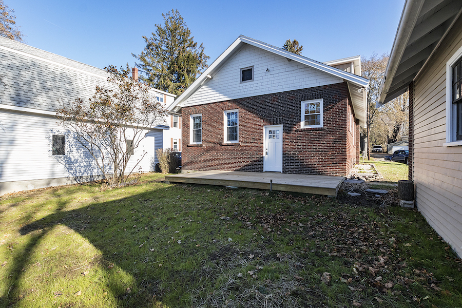 Classic Brick Bungalow Has Been Totally Rehabbed And